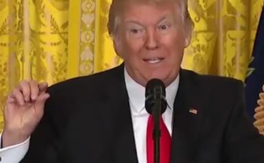 8 things President Trump actually said during his press conference