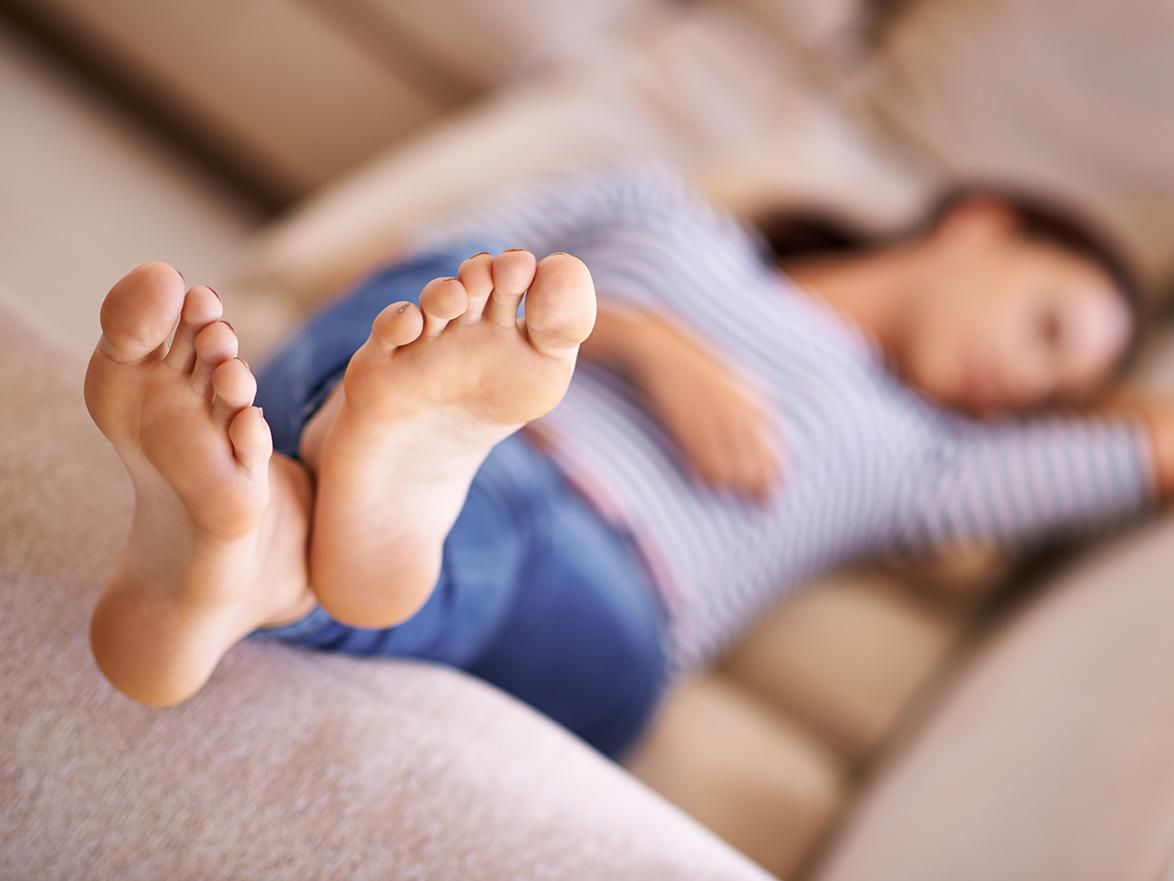 Why do men like girls feet