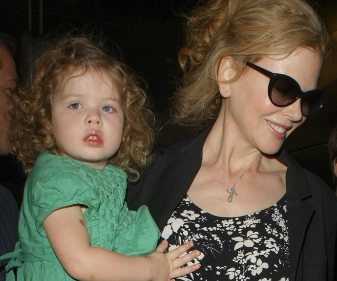 Nicole Kidman introduces daughter Faith to her other mummy