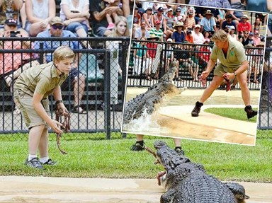 All the times Robert Irwin was literally a carbon copy of dad Steve