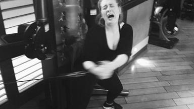 Gym-hater Adele reveals her reluctant workout secrets