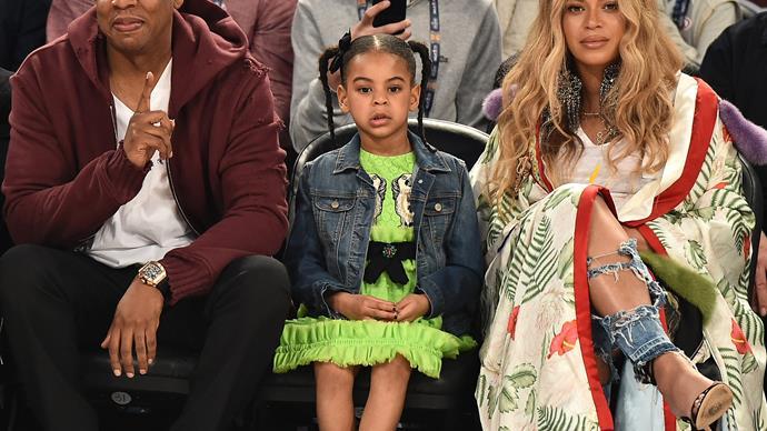 Jay Z, Beyonce Blue Ivy