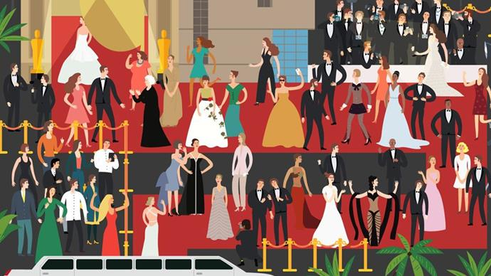 QUIZ: Can you solve this Oscar fashion puzzle?