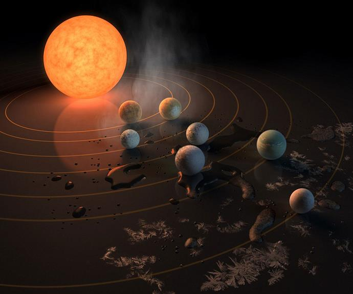 Nasa just announced they've found an entire new solar system