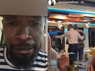 Oscar-winner Jamie Foxx racially abused in Croatia