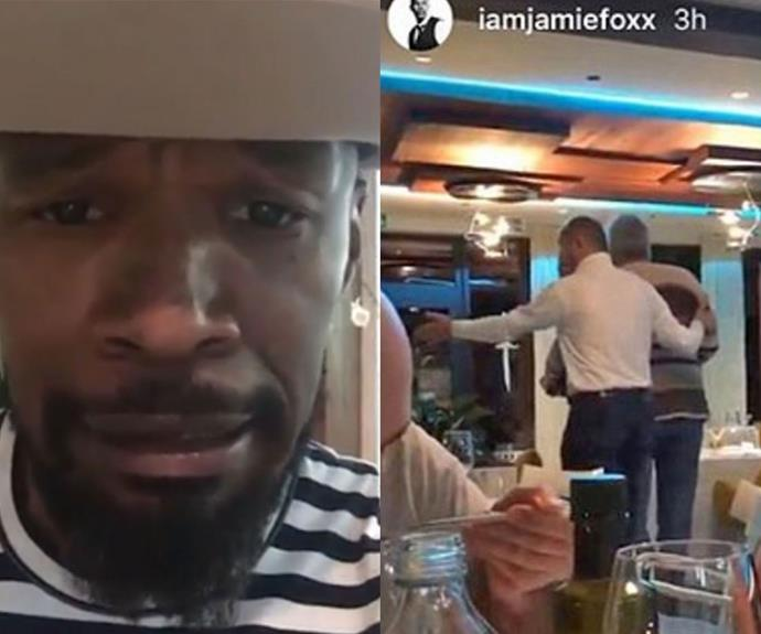 Oscar-winner Jamie Foxx racially abused in Croatia