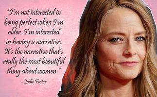Jodie Foster on ageing