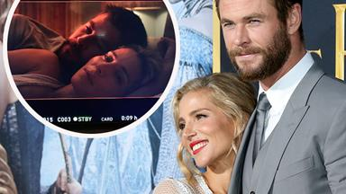 Chris Hemsworth talks shooting sex scenes with wife Elsa Pataky and is it hot in here or what?!