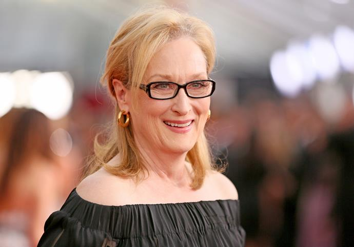 The reigning Queen of Hollywood, Meryl.