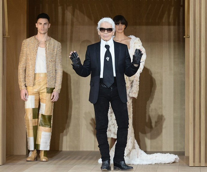 Lagerfeld is known for his creative genius as much as his outspoken nature.