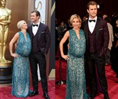 10 Oscars maternity looks worthy of an Academy Award