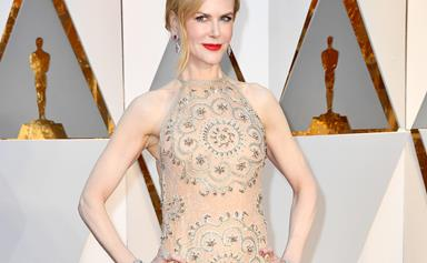 She's here! Best Supporting Actress nominee Nicole Kidman has arrived at the Oscars