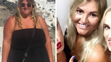 How one woman went from eating KFC every day to losing 45kg in just six months