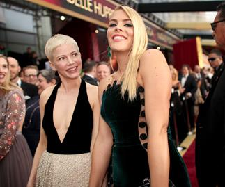 Michelle Williams and Busy Philipps