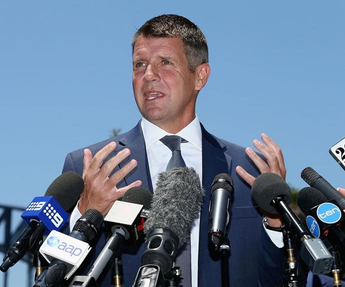 Former NSW Premier Mike Baird has a brand new gig