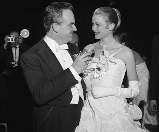 Princess Grace and Prince Rainer