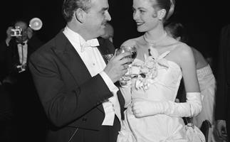 Princess Grace and Prince Rainer