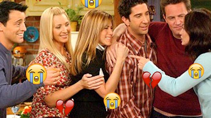 Friends, Joey Tribianni, Phoebe Buffay, Rachel Green, Ross Geller, Chandler Bing, Monica Geller