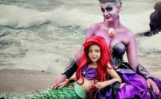 Camilla Courts Disney Dress Up