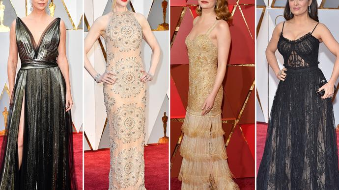 The Oscars 2017 gowns