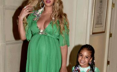 Beyoncé and Blue Ivy were the real princesses at the 'Beauty and the Beast' premiere