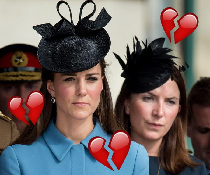 Duchess Catherine and  Rebecca Deacon