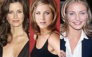 Courteney Cox, Jennifer Aniston, Cameron Diaz