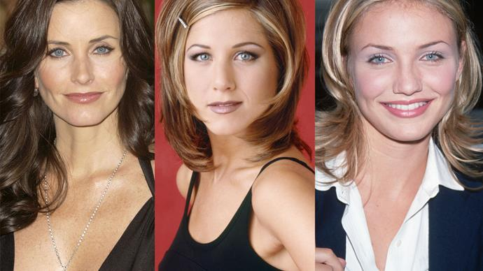 Courteney Cox, Jennifer Aniston, Cameron Diaz