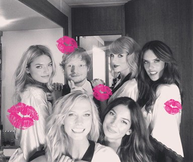 Which member of Taylor Swift's 'squad' did Ed Sheeran hook up with: an analysis