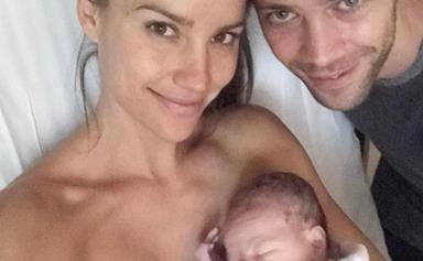 Rachael Finch finally reveals her newborn son's name!