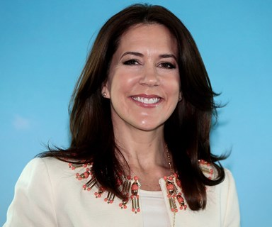 Princess Mary rocks International Women's Day in leather