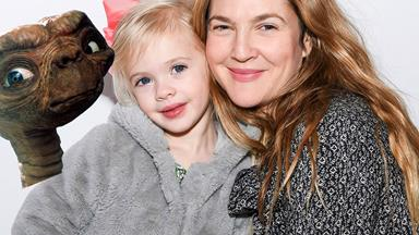 Drew Barrymore and her adorable daughter make their red carpet debut