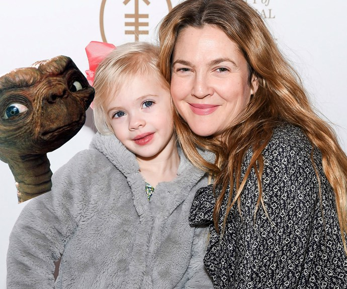 Drew Barrymore and daughter Frankie
