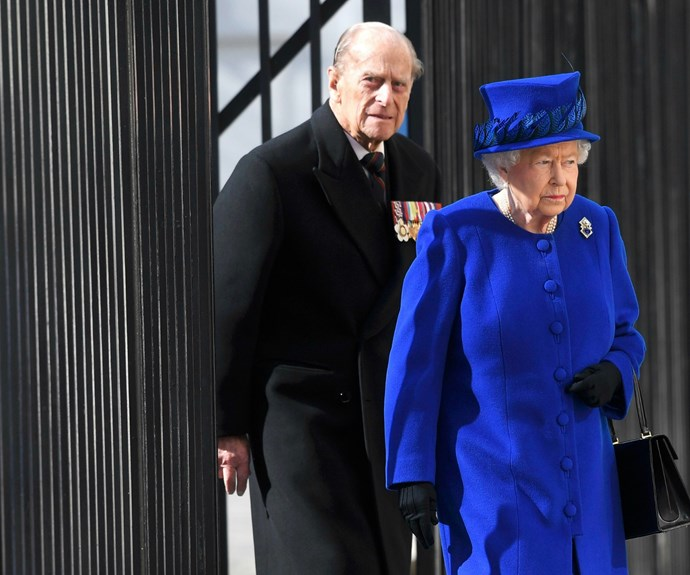 Prince Phillip accompanied his wife for the occasion.