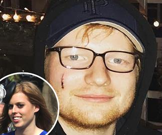 Ed Sheeran, Princess Beatrice