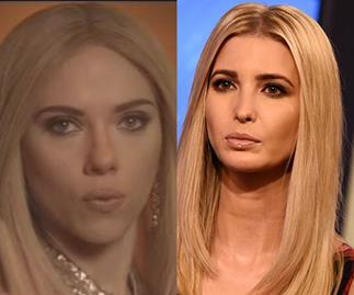 Scarlett Johansson playing first daughter Ivanka Trump on SNL is what the world needs right now