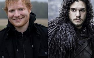 Ed Sheeran, Jon Snow, Game of Thrones