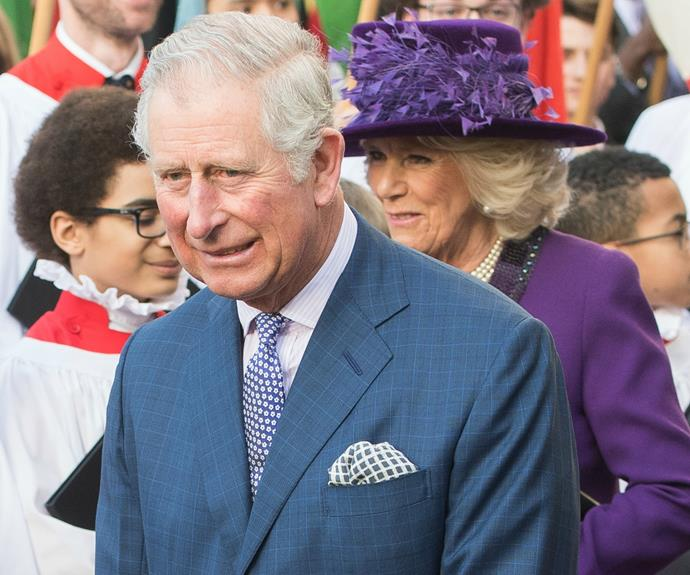 The royal couple seemed to be in high spirits at the annual event.