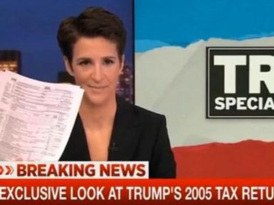 BREAKING: Trump's tax returns leaked