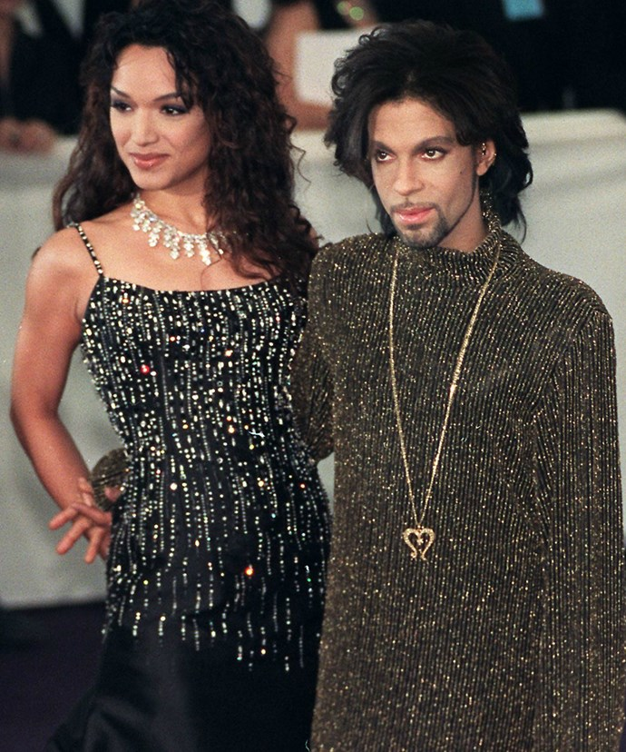 Mayte and Prince were married from 1996 to 2000.