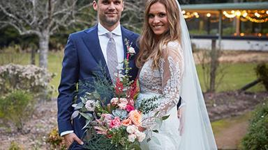 In pics: Former Home And Away star Christie Hayes' wedding