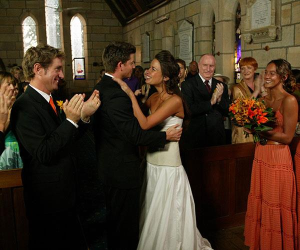 55575a08c148 Home and Away's best ever weddings | TV WEEK