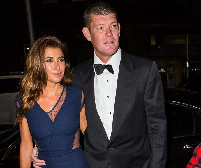 Jodhi Meares and James Packer