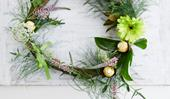 How to make an easy (and yes, chocolate-filled!) Easter wreath