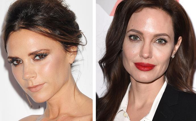 Victoria Beckham, Angelina Jolie