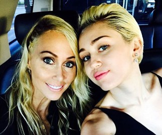 miley cyrus, tish cyrus, brandi cyrus, billy ray cyrus