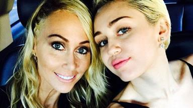 Miley Cyrus's mum Tish tells the truth about that wedding pic...