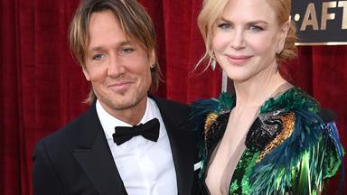 Keith Urban goes full country love song on Nicole Kidman
