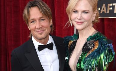 Keith Urban goes full country love song on Nicole Kidman