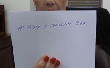 Pauline Hanson wants to ban the Muslim faith